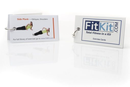 Exercise Cards for FitKit, Total Wellness Solution