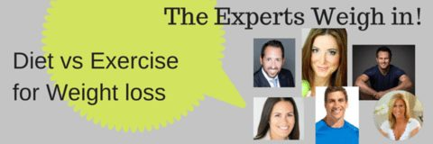 Diet vs Exercise for Weight Loss – The Experts Weigh In