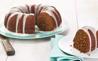 Chobani Iced Gingerbread Bundt Cake