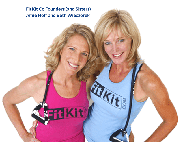 FitKit CoFounders (and sisters) Amie Hoff and Beth Wieczorek