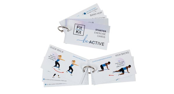 FitKit Exercise Cards