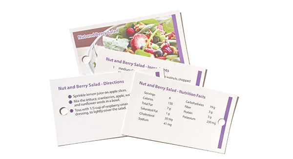 EatWell Cards