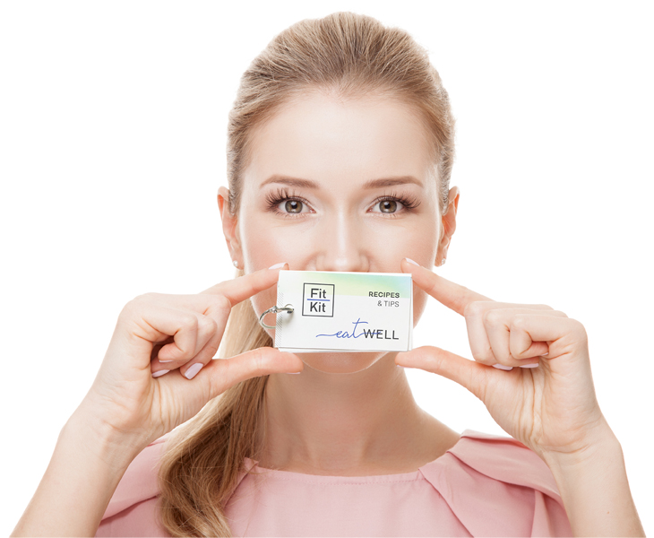 woman with eatwell card